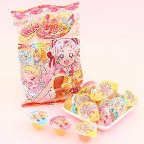 Furuta Hugtto! KiraKira Pretty Cure Fruit Mini Jelly Set - 16 pcs
