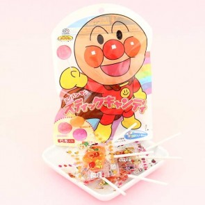 Fujiya Anpanman Fruit Lollipop Bag