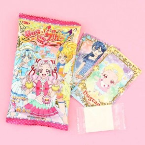 Top HUG Hugtto! KiraKira Pretty Cure Card & Gum Set