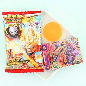 Bandai Dragon Ball Heroes Card & Chewing Gum Set Series 5