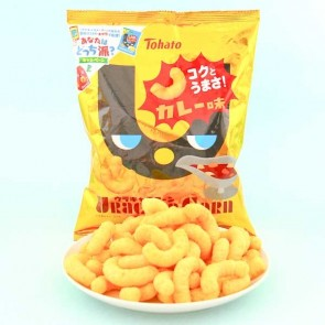 Tohato Uracara Corn Snack - Japanese Curry