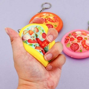Pizza Keychain Squishy