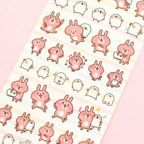 Kanahei's Happy Piske & Usagi Stickers