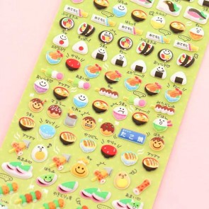 Kanto Cooking Puffy Stickers
