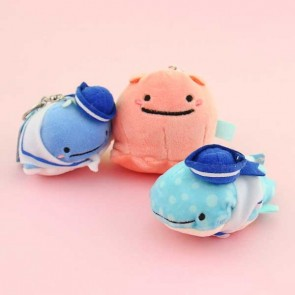 Sailor Suit Jinbesan Plush Keychain