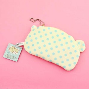 Hiding Marumofubiyori Plush Pouch & Coin Purse