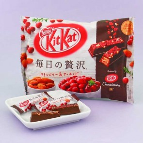Kit Kat Chocolatory Cranberry & Almond Chocolate