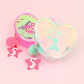 Holographic Heart Purse