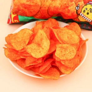 Calbee Potato Chips - Hot & Spicy