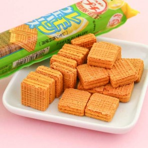 Bourbon Petit Mini Lemon Wafers