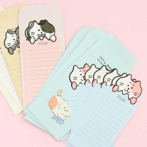 Kawaii Neko Letter Set