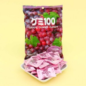 Kasugai Grape Gummy Candies