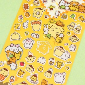 Golden Pompompurin Stickers