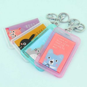 Cute Pastel Animals Travel Tag & Keychain
