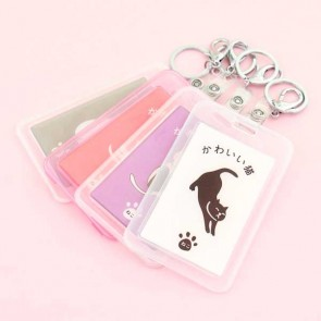 Kawaii Neko Travel Tag & Keychain