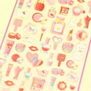 Pink Gemic Cosmetics Stickers