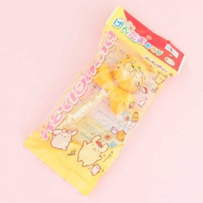 Ulido Sanrio's Pompompurin Kendama Cup-and-Ball & Candies