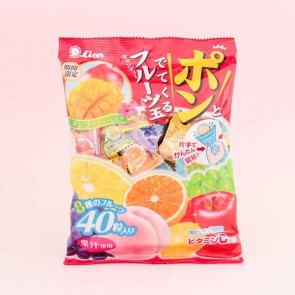 Lion POP Fruit Candies
