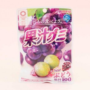 Meiji Fruit Gumi Gummy Candy - Grape