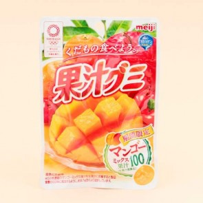 Meiji Fruit Gumi Gummy Candy - Mango