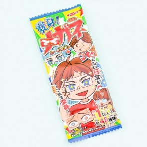 Top Transform Glasses Card & Chewing Gum Set