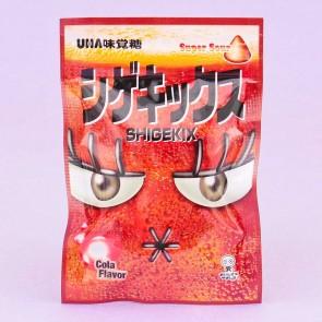 UHA Shigekix Super Sour Gummy Drops - Cola