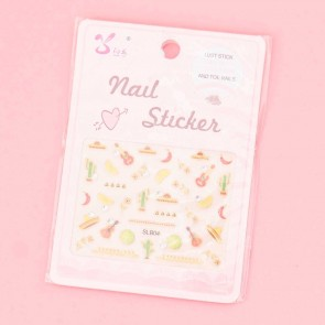 Hot Summer Nail Stickers