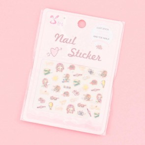 Happy Traveler Nail Stickers