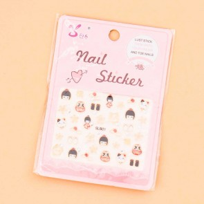 Japanese Girl Nail Stickers