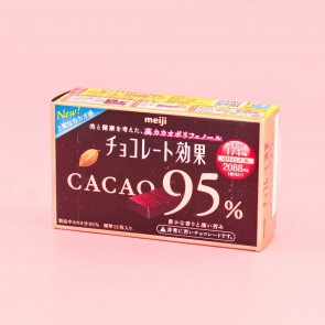 Meiji Cacao 95% Chocolate Bar