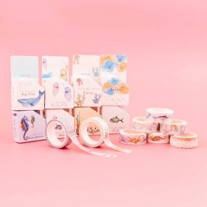 Live Around the Coral Reef Collection Washi Tape