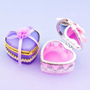 Heart & Lace Princess Jewelry Box