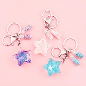 Star Shaped Fantasy Keychain & Charm