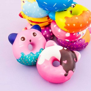 Funny Animal Donut Squishy