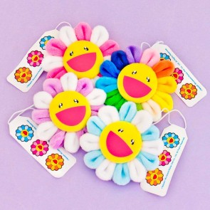 Kaikai Kiki Happy Flower Badge