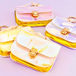 Holographic Mini Purse & Keychain