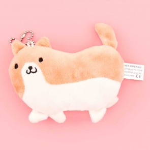 Chubby Little Corgi Plush Charm