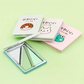 Cute Life Pastel Double Pocket Mirror