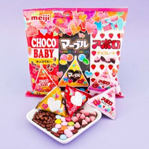 Meiji Chocolate Trio Party Bag