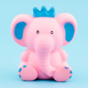 Pink Elephant King Squishy