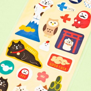 Japanese Neko Washi Stickers