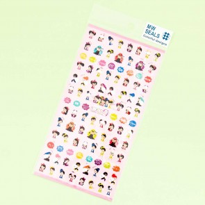 Mind Wave Stickers - Crime Fighting Girls