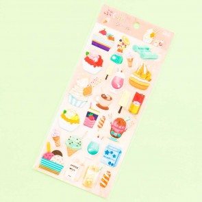 Nekoni Sweets Puffy Stickers