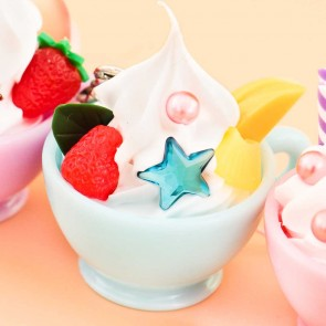 Ice Cream Tea Cup Charm