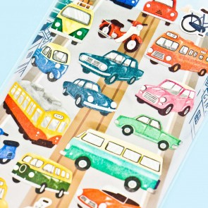Vintage Vehicles Washi Stickers