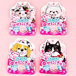 Happy Nikukyu Paw Gummies - Strawberry Milk