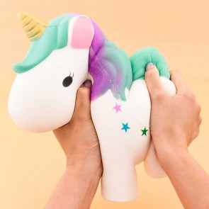 Jumbo Pastel Star Unicorn Squishy