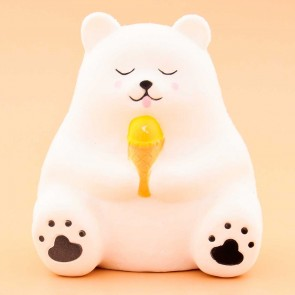 Polar Bear With Ice Cream Squishy
