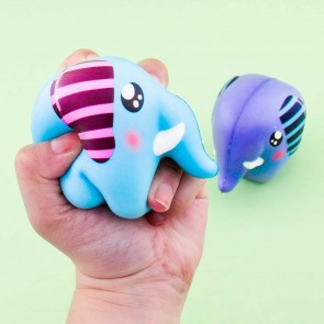 Little Colorful Elephant Squishy