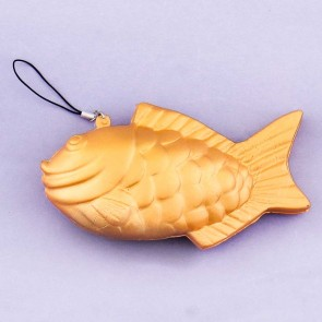 Golden Taiyaki Squishy